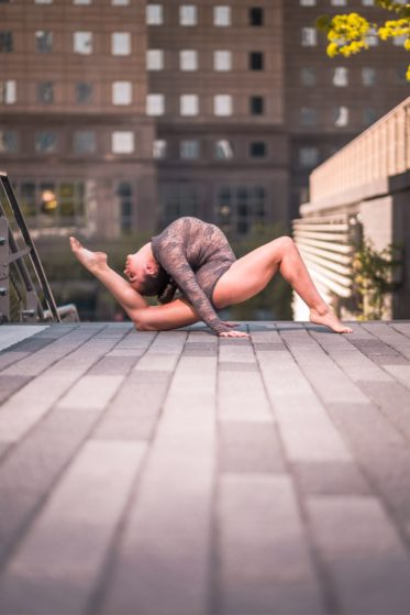 Contortionist for Circus Theme Entertainment at Corporate Event