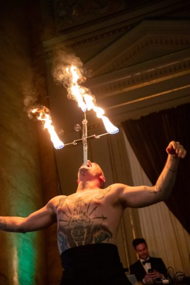 Sword Swallower for Corporate Event